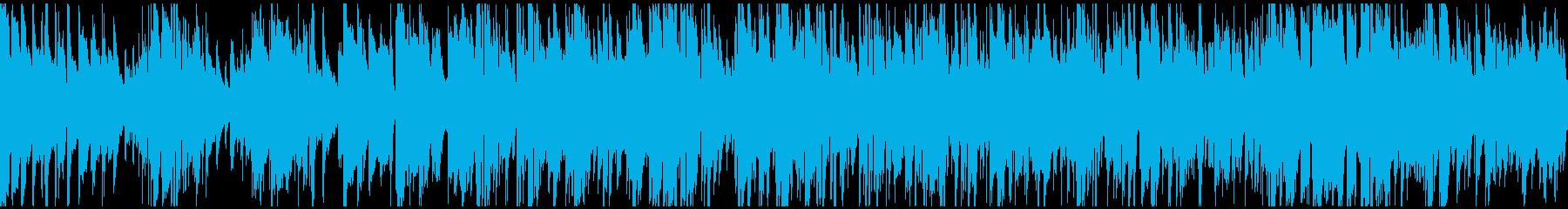リラックス系まったりジャズ※ループ仕様版の再生済みの波形