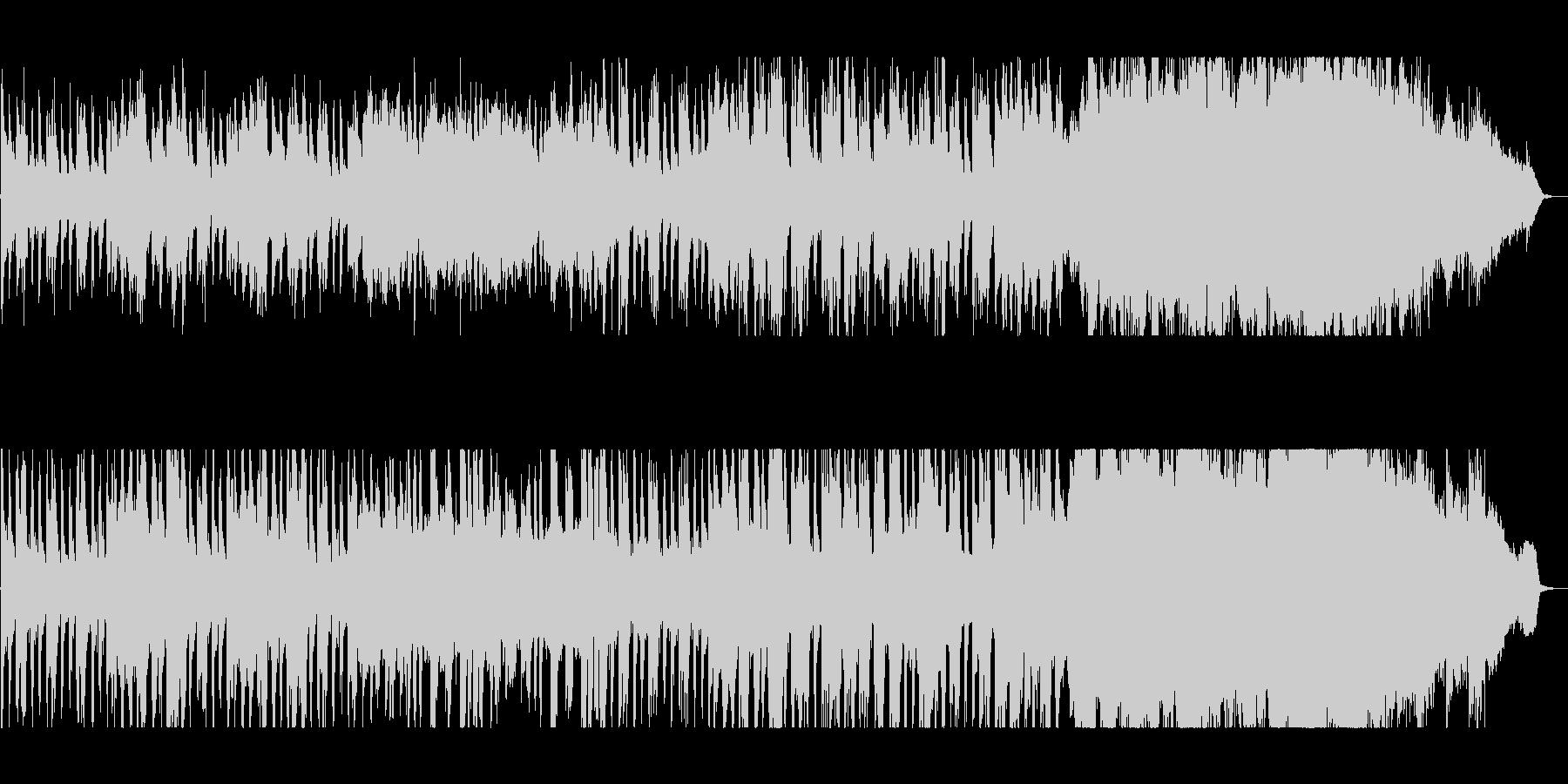スケール感のある壮大なバラードの未再生の波形