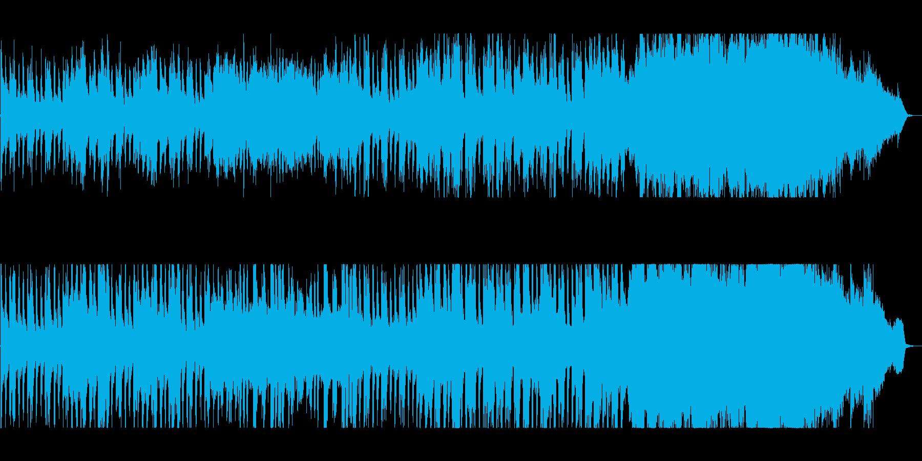 スケール感のある壮大なバラードの再生済みの波形