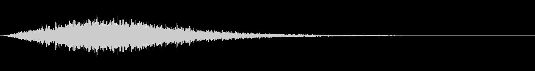 シューッという音EC07_90_2 2の未再生の波形