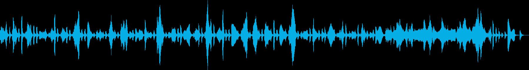 ストリングス&ピチカートをバックにエレ…の再生済みの波形