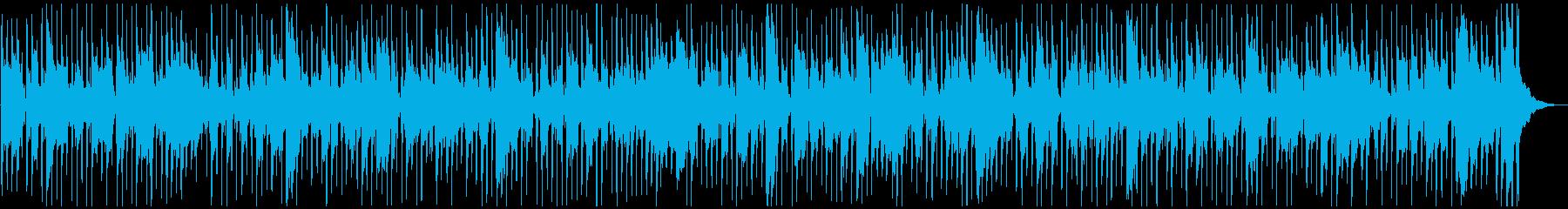 楽しげなフレンチワルツの再生済みの波形