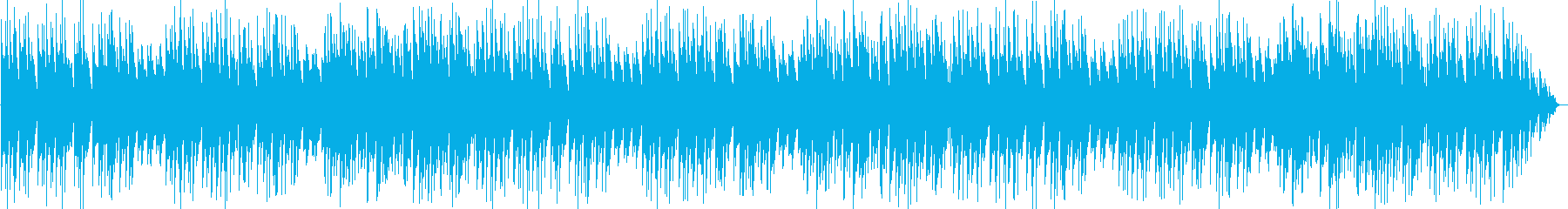 エレピ音メインのワルツ曲の再生済みの波形