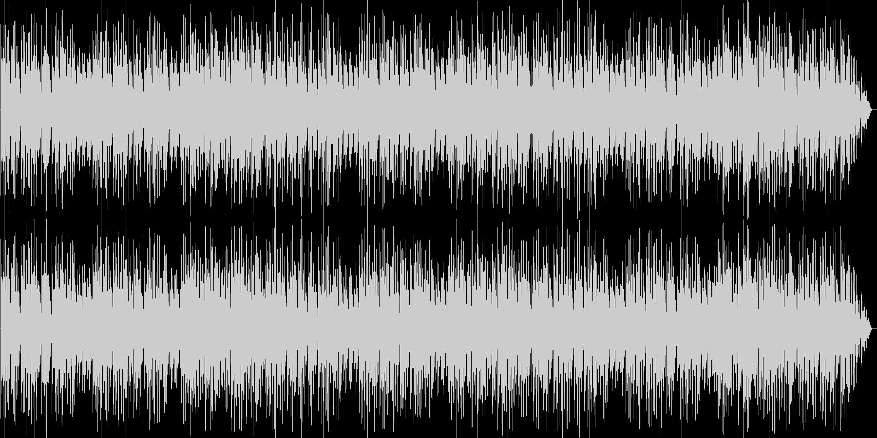 エレピ音メインのワルツ曲の未再生の波形