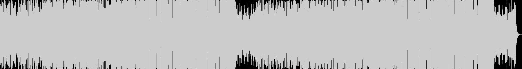 躍動感高揚感おしゃれ切ないエレクトロaの未再生の波形