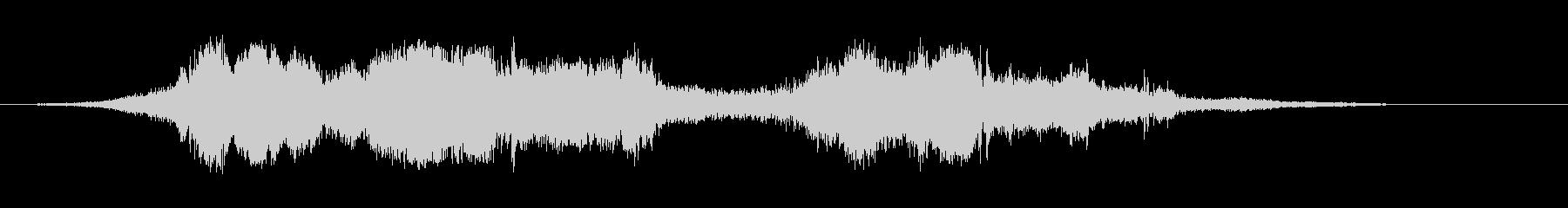 カートインディカー;ターン(3台の...の未再生の波形
