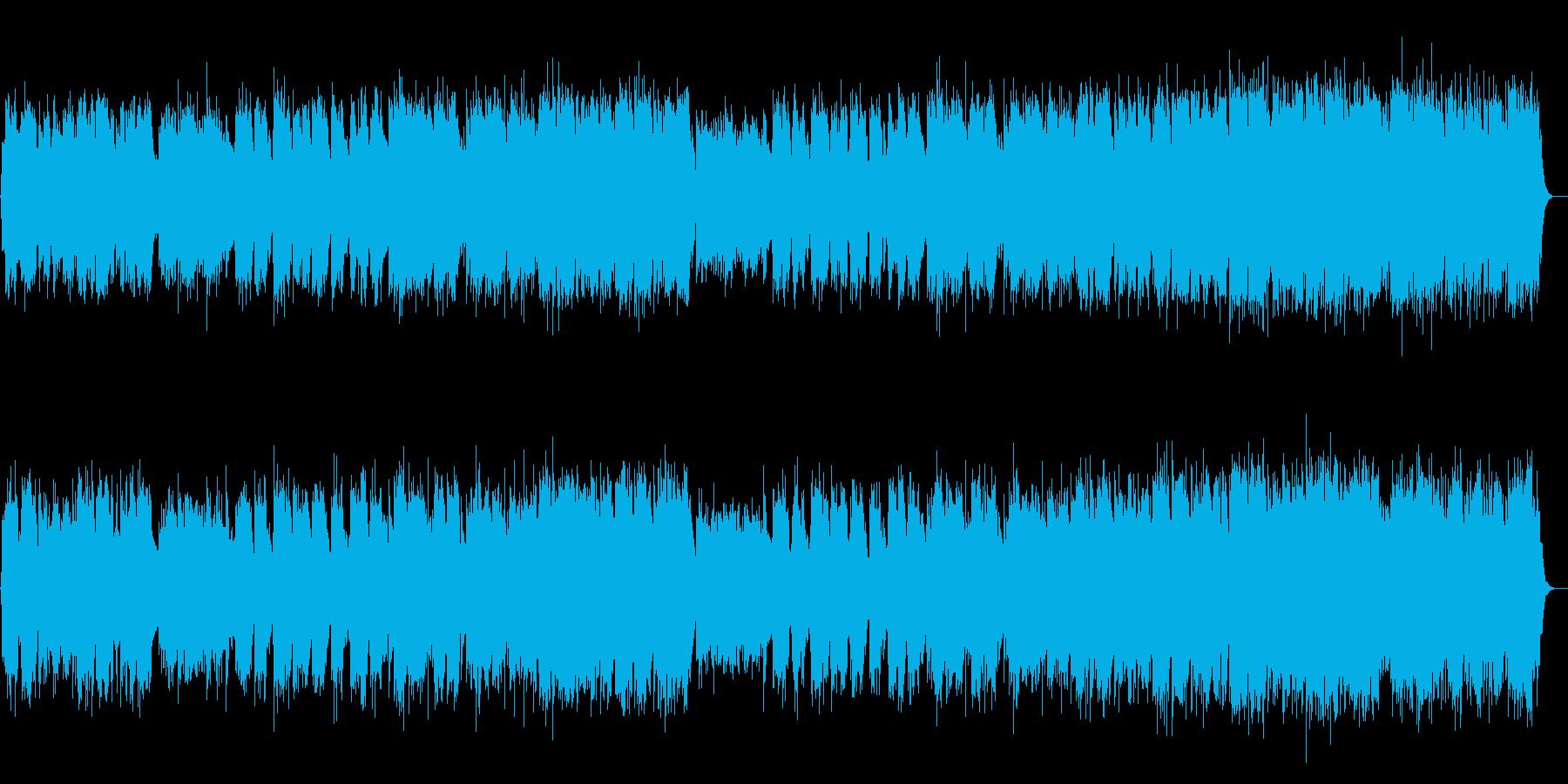 和風 しっとり感動バラード 篠笛生演奏の再生済みの波形