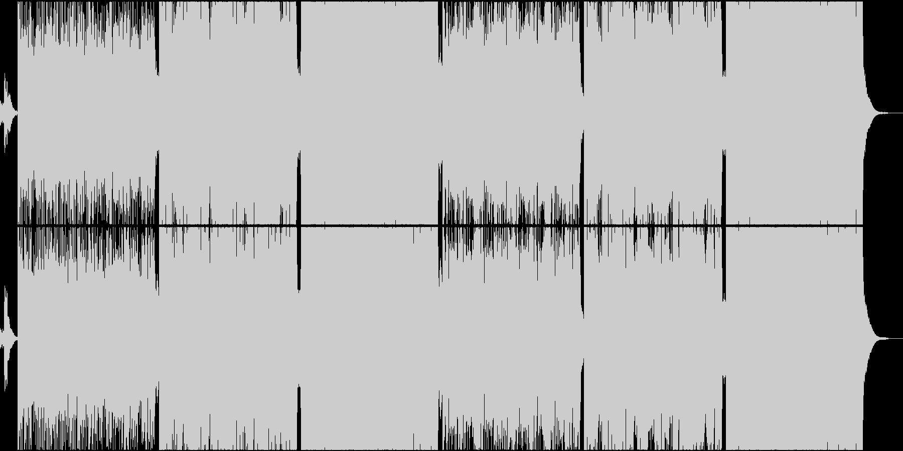 和楽器を使ったインダストリアル・メタルの未再生の波形