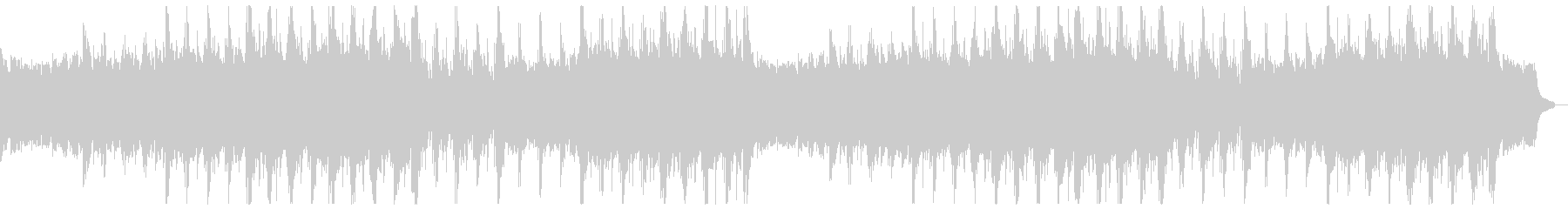 雄大なピアノアルペジオ:フル2回の未再生の波形
