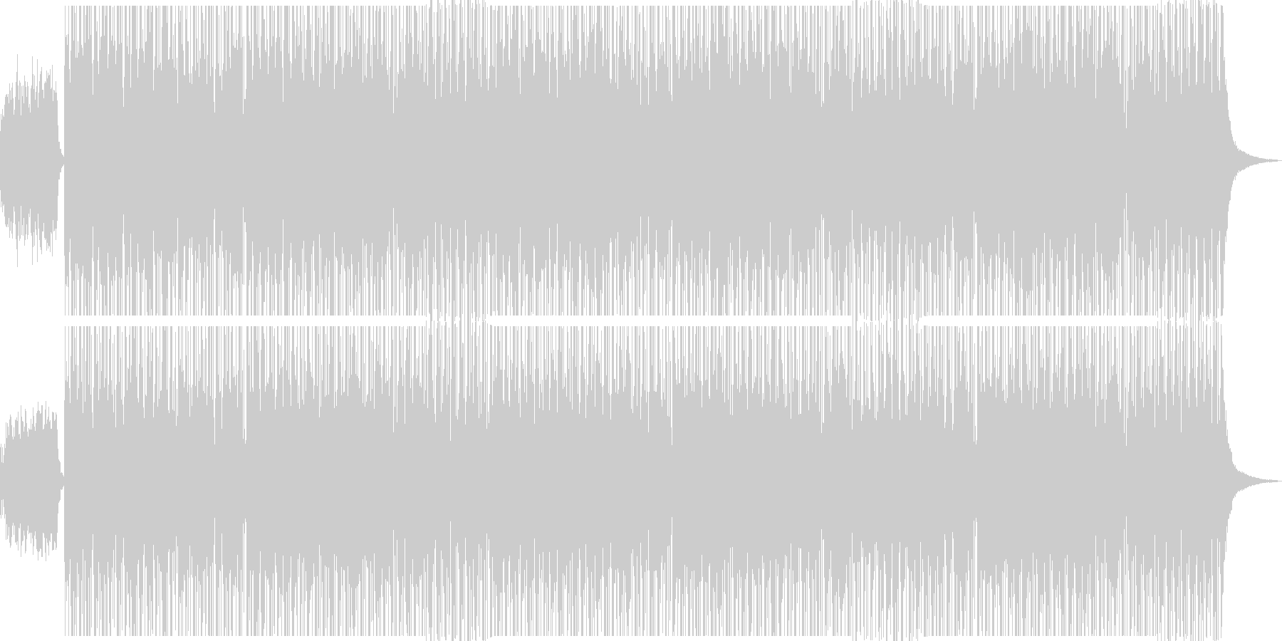 しっとり/フルート/バラード/エレピの未再生の波形