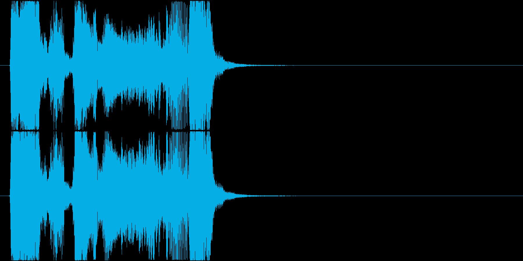 「ビッグボーナス」アプリ・ゲーム用の再生済みの波形