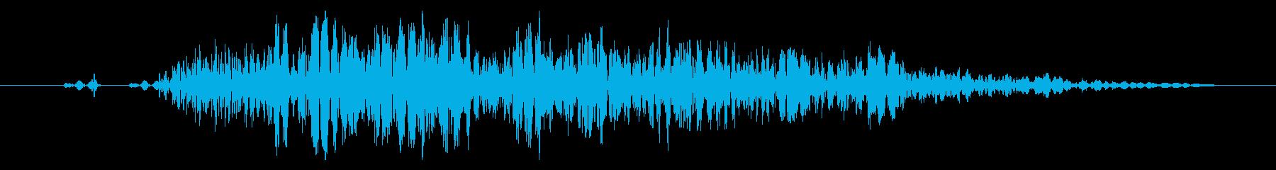 【打撃音14】パンチやキックに最適です!の再生済みの波形