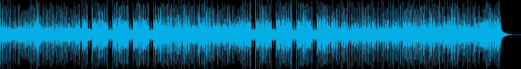 生演奏三味線と和太鼓 和風を伝えるBGMの再生済みの波形