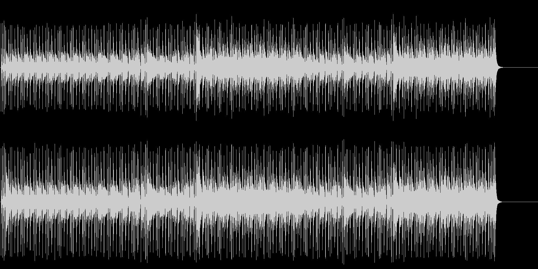 軽さのあるマイナー・テクノ・ポップ/BGの未再生の波形