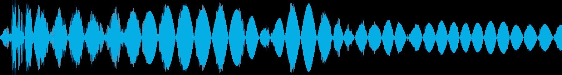 ドス(決定 カーソル移動 コミカル殴り)の再生済みの波形