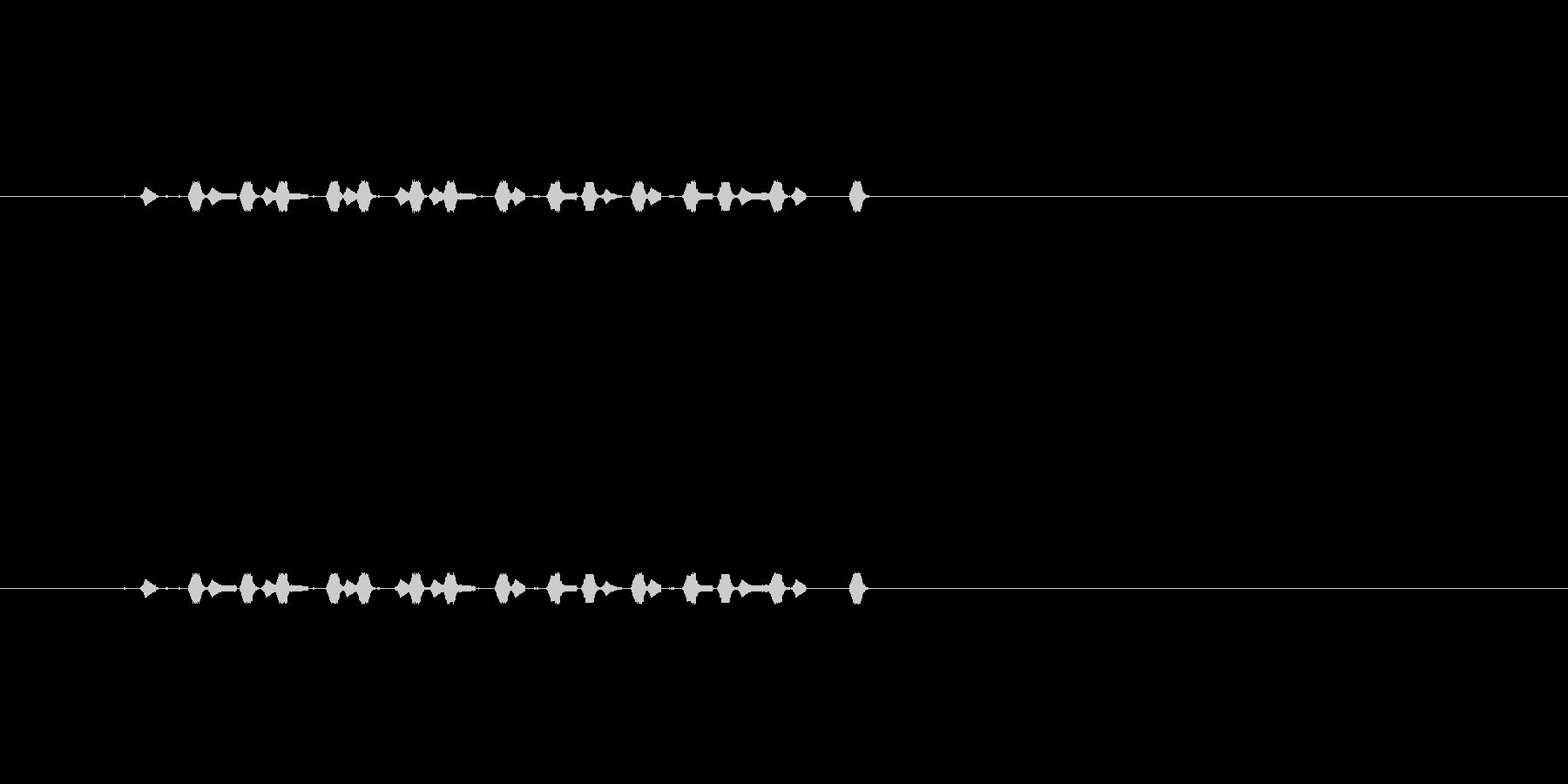 【サイバー13-2】の未再生の波形