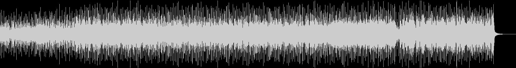 軽快なウクレレポップ曲の未再生の波形