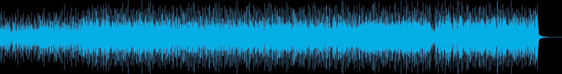 軽快なウクレレポップ曲の再生済みの波形