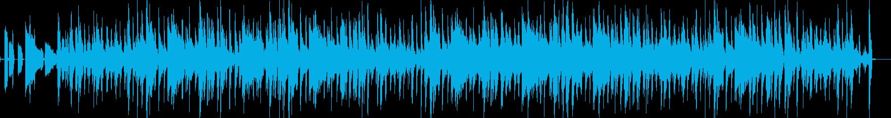 サラサラ ジャズ ドラマチック ゆ...の再生済みの波形