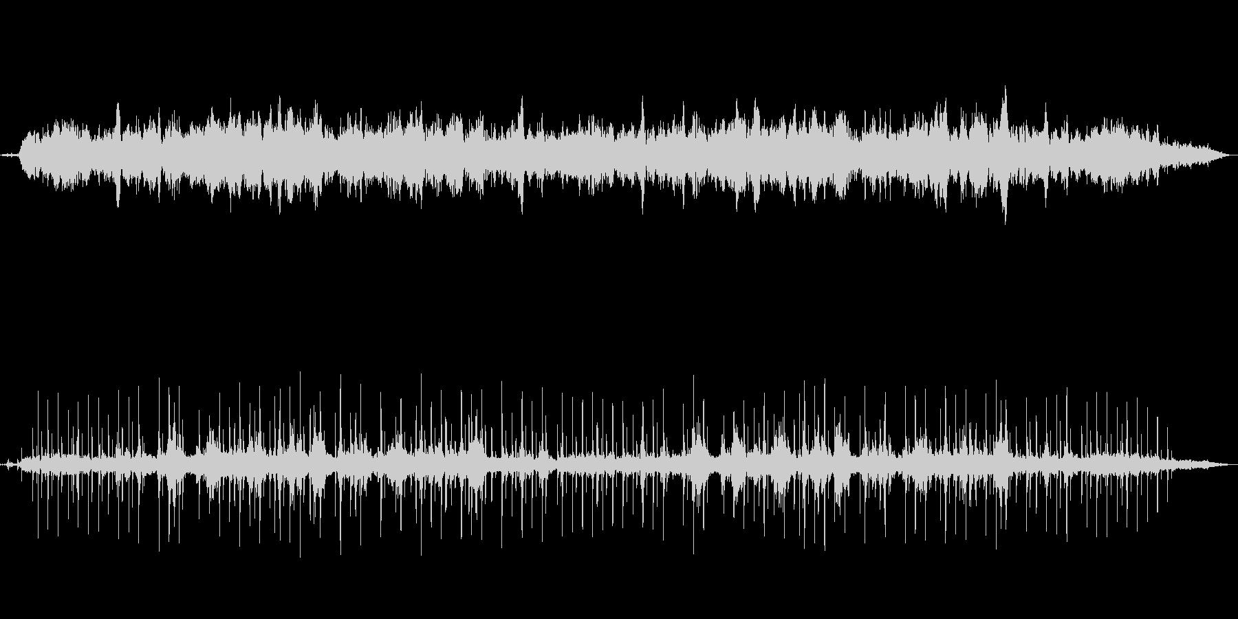 アヴェマリア・鳥の声と静かなヒーリング曲の未再生の波形