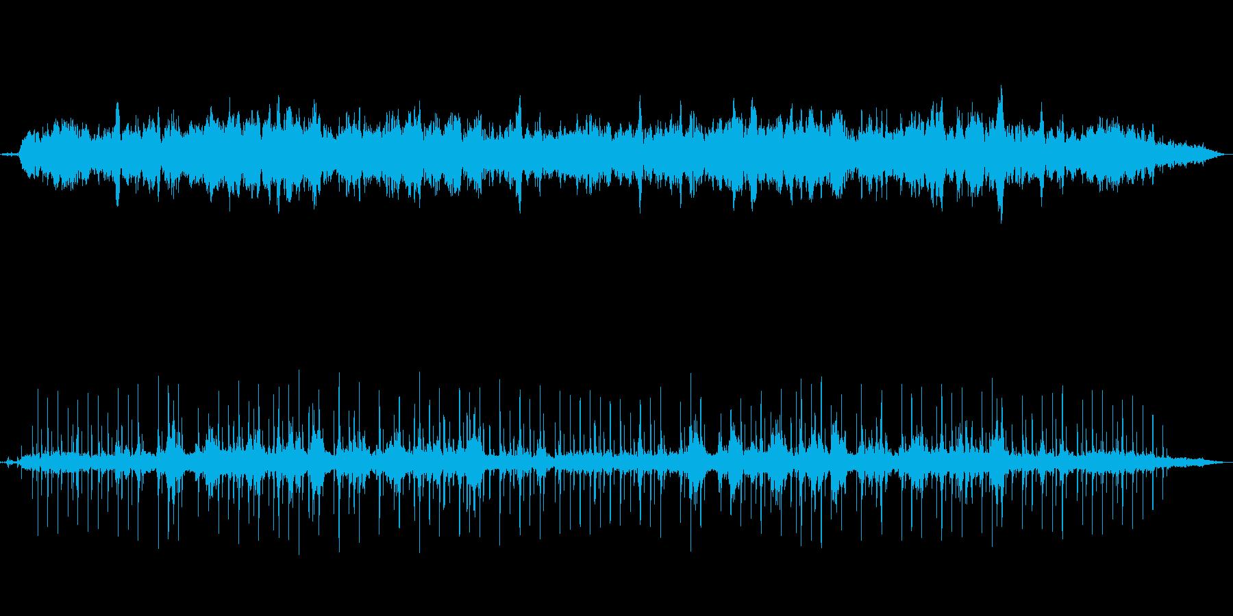 アヴェマリア・鳥の声と静かなヒーリング曲の再生済みの波形