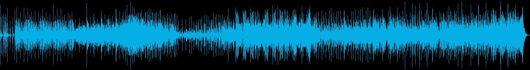 モダンなスウィングジャズの再生済みの波形