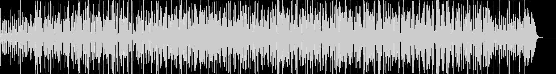 トリオ編成風ギターファンクの未再生の波形