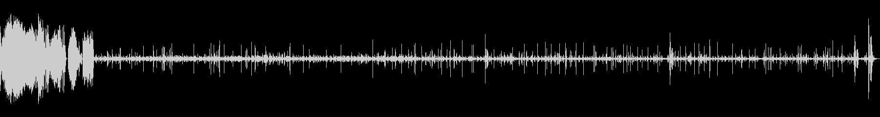 スクラッチCDの未再生の波形