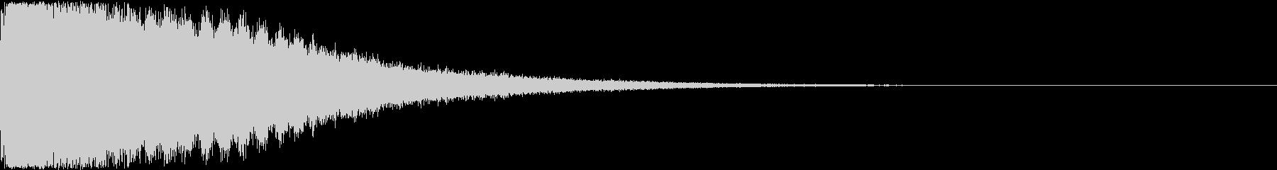 刀 剣 ソード カキーン キュイーン09の未再生の波形