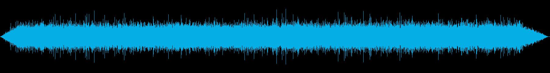 【環境音】 02 水の流れの再生済みの波形
