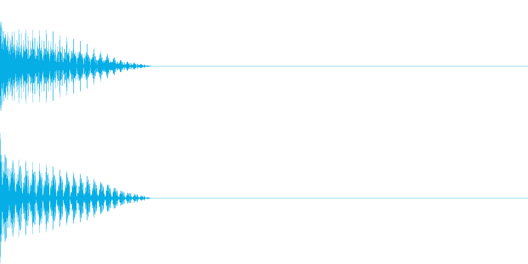 Cursor セレクト・カーソルの音8の再生済みの波形