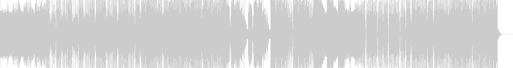 実験電子機器で技術のある曲の未再生の波形