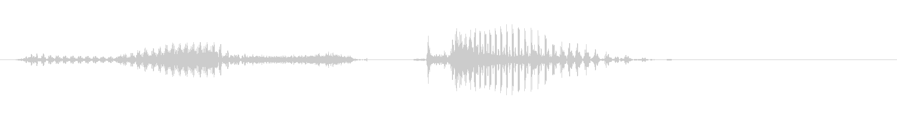 Gifu Prefecture's unreproduced waveform
