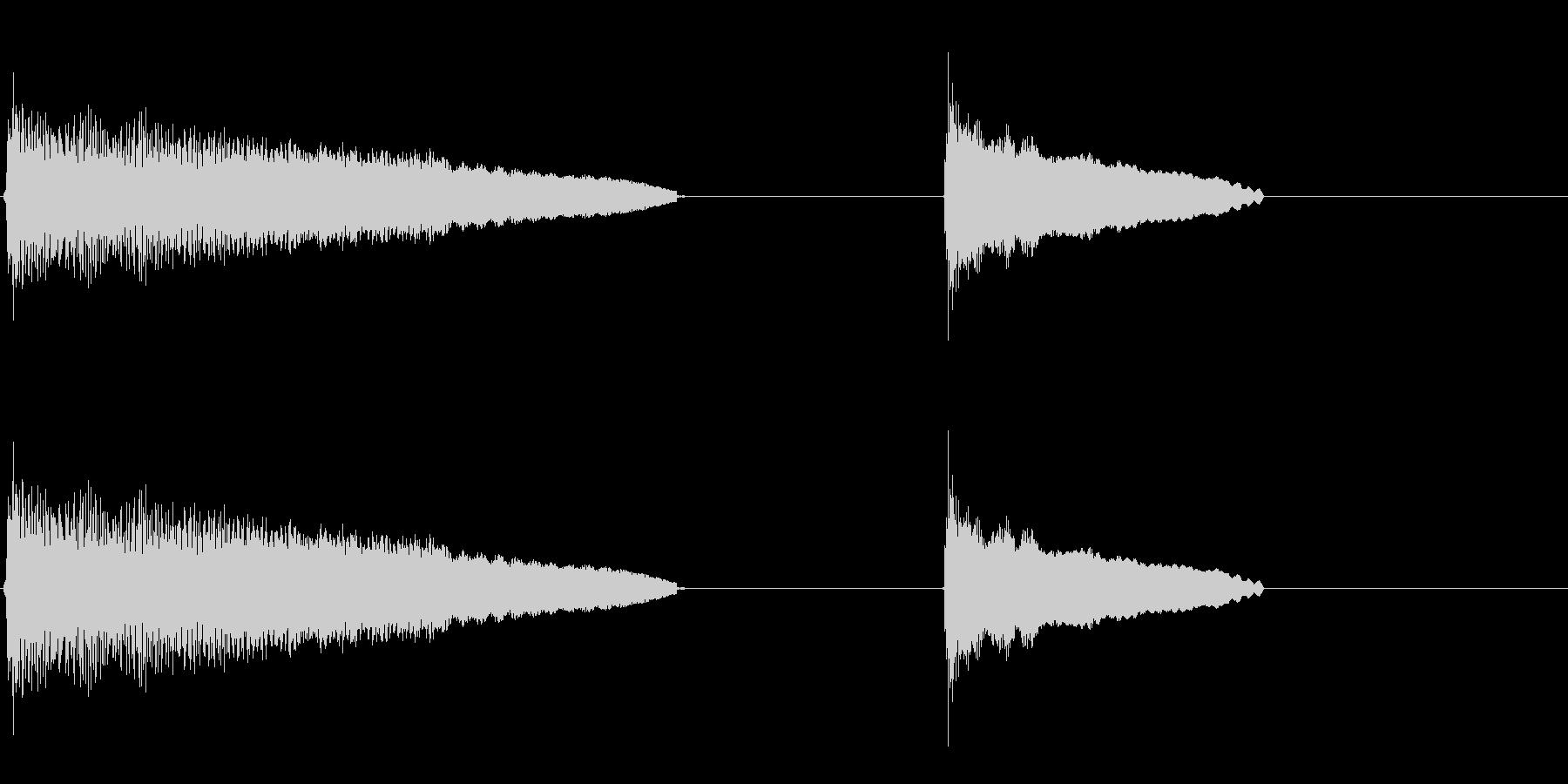 昇順、伸長、ハワイアンギター弦スラ...の未再生の波形
