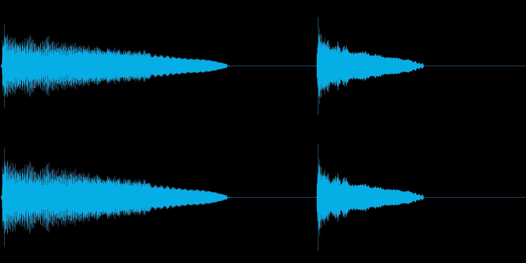 昇順、伸長、ハワイアンギター弦スラ...の再生済みの波形