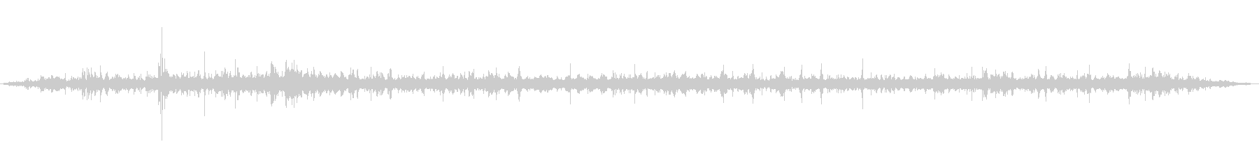 [ASMR]波打ち際の音_008の未再生の波形