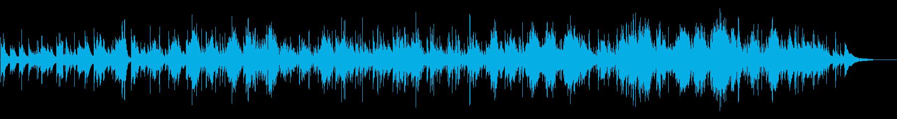 透明感ある歌声&ギターのアイルランド民謡の再生済みの波形