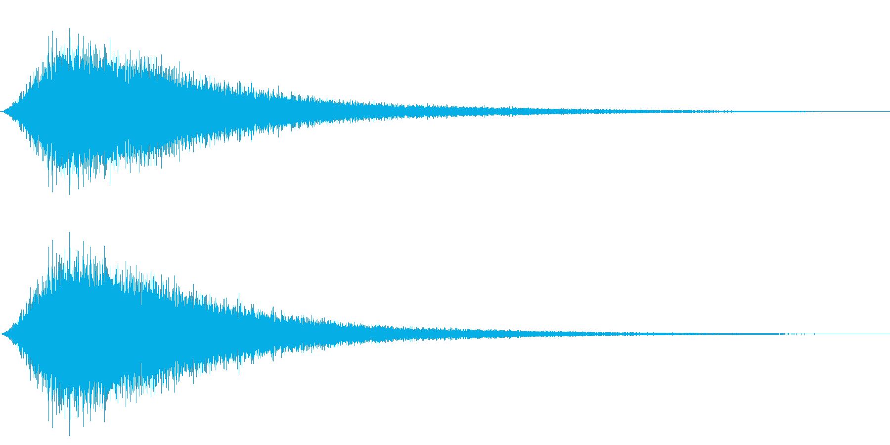 NAMIOTO 波の音 ワンショット音源の再生済みの波形