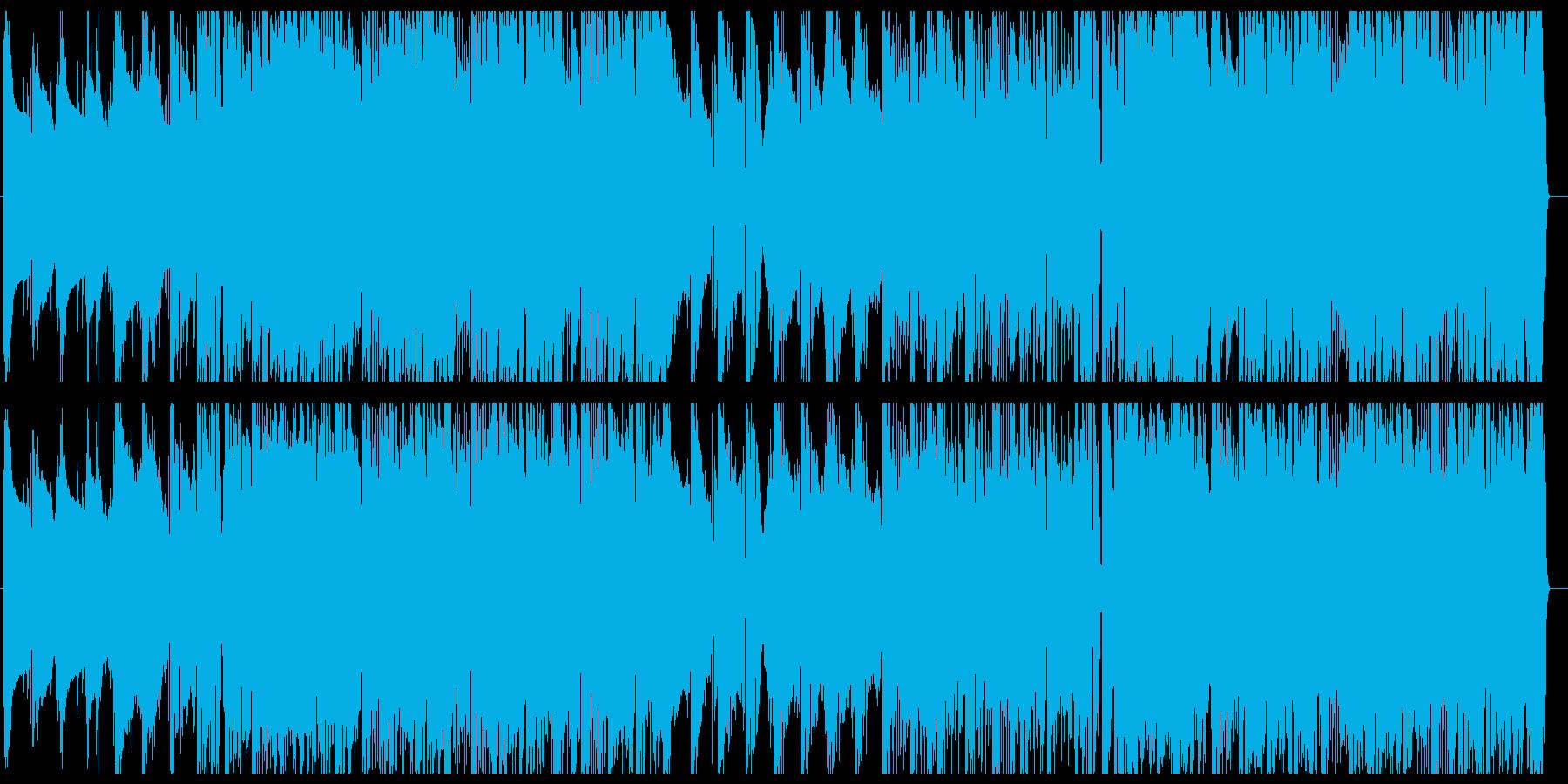 緊張感のあるジャジーなポップスの再生済みの波形