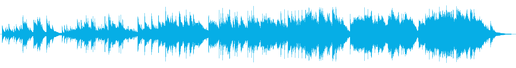 シックでゆったりしたピアノメロディーの再生済みの波形