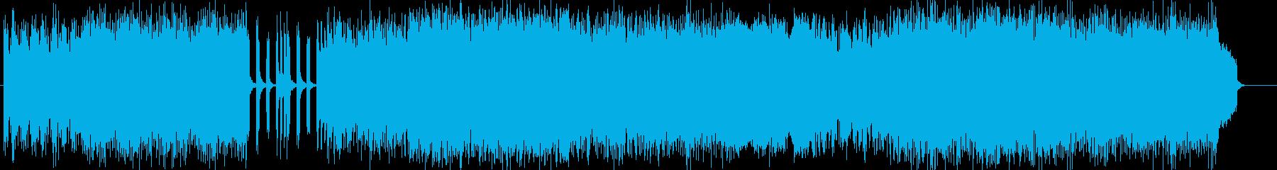 「POWER・HEAVYMETAL」の再生済みの波形