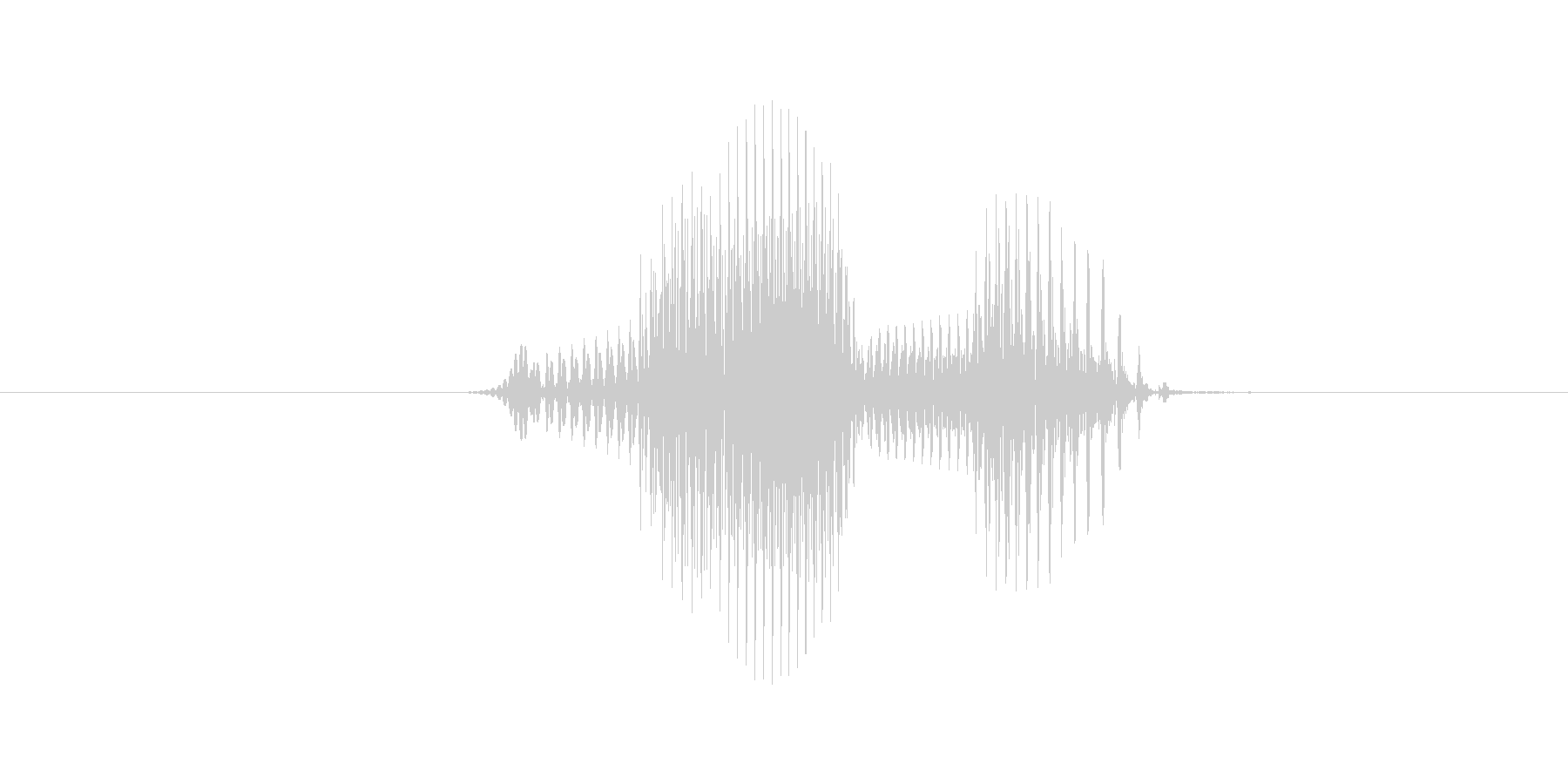 7(数字、男の子、少年)の未再生の波形