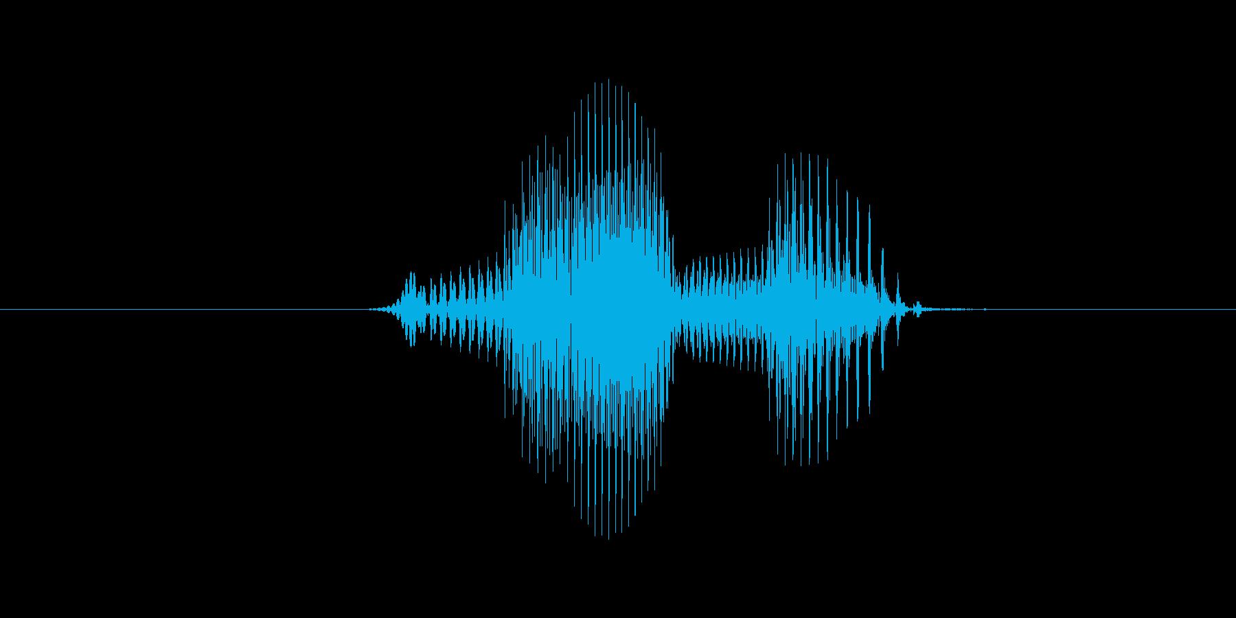 7(数字、男の子、少年)の再生済みの波形