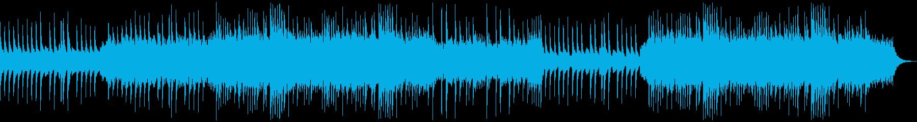 歪んだピアノとコーラスで構成の不気味な曲の再生済みの波形