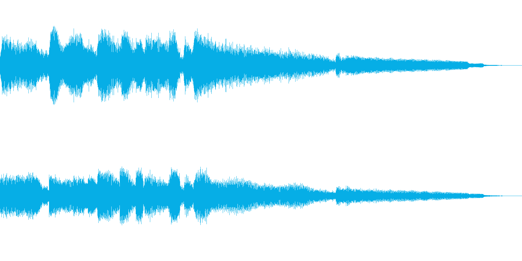 【10秒強】ジャズギターのコードとソロの再生済みの波形