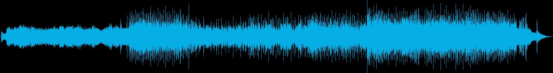 XJapanのようなタイプのハードロックの再生済みの波形