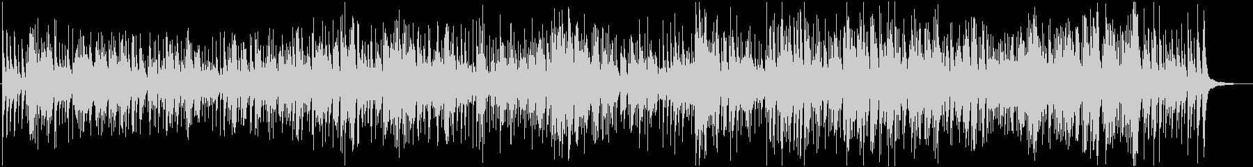 猫のフーガのギターアレンジ曲の未再生の波形