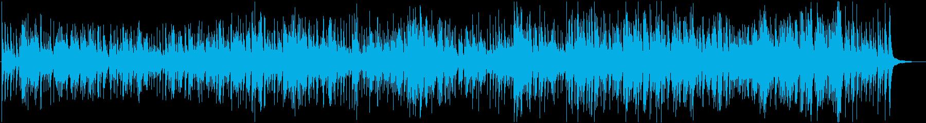 猫のフーガのギターアレンジ曲の再生済みの波形