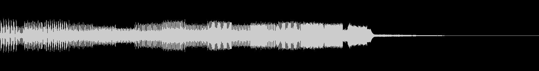 パチンコ的アイテム獲得音03(電子音)の未再生の波形