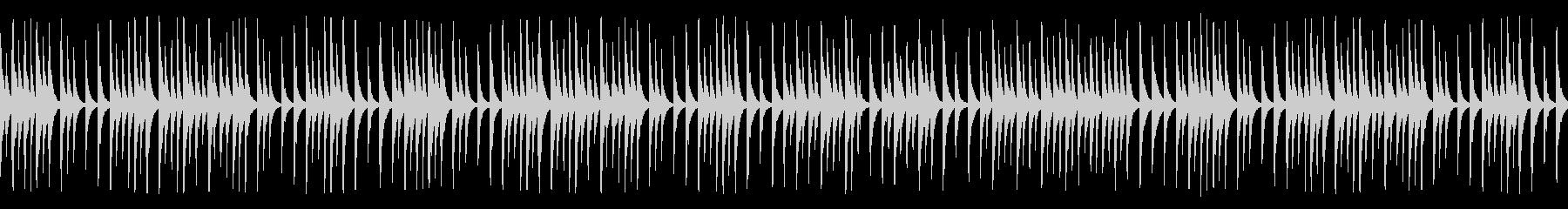 料理や教育教養系動画に合う木琴(ループの未再生の波形